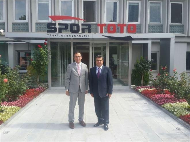Spor Toto'dan Okulların Onarımına Destek
