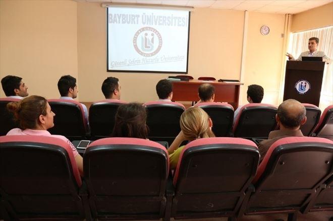 Bayburt Üniversitesi Aday Memurları İçin Temel Eğitim Semineri