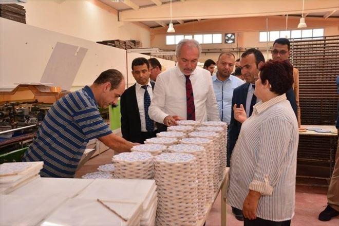 Başkan Saraçoğlu'ndan 1. OSB'deki Fabrikalara Ziyaret
