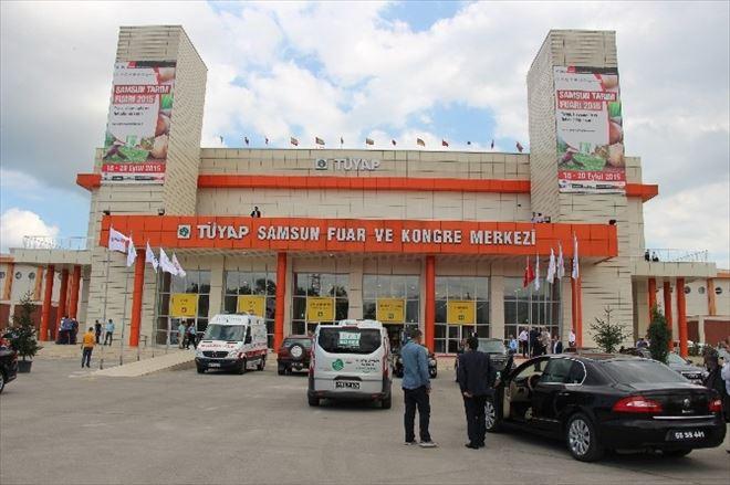 Samsun Tarım Fuarı Açıldı