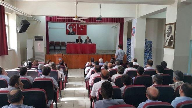 Denizli'de Yeni Eğitim Yılı Değerlendirme Toplantısı