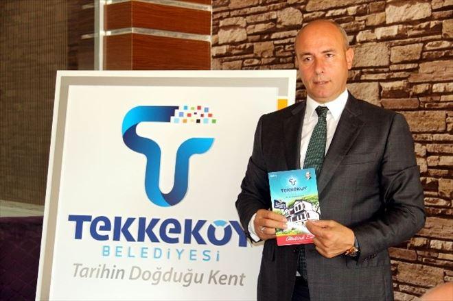 Tekkeköy Belediyesi Yeni Logosunu Tanıttı