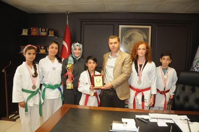 Çan Belediyesi Tekvando Kulübünün Büyük Başarısı