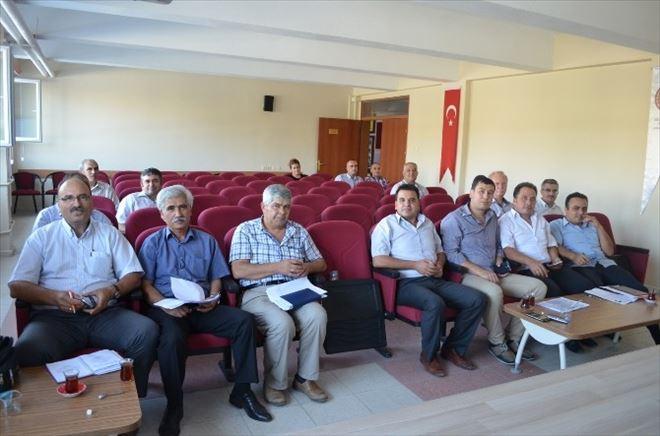 Kula'da Okul Müdürleri Toplantısı