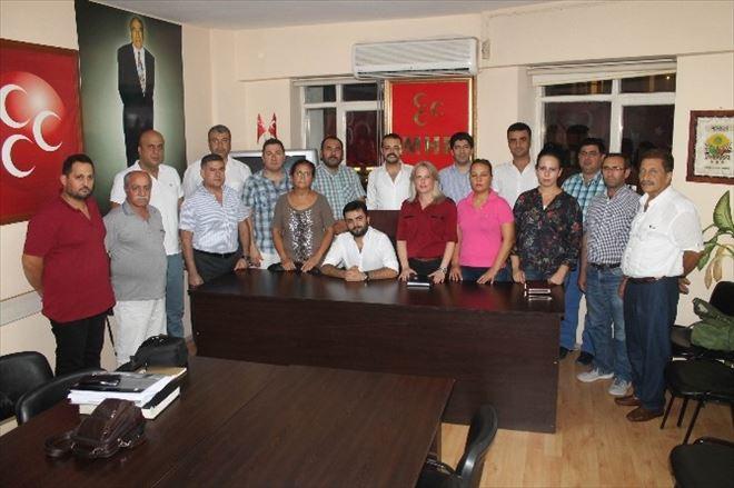 MHP Muratpaşa İlçe Başkanlığına Aksöz Atandı