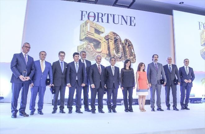 Fortune 500 Türkiye Ödülleri Sahiplerini Buldu