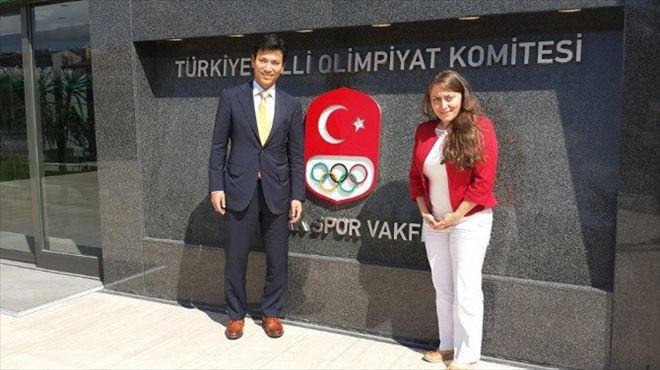 Buz Pateninde Türkiye - Kore İşbirliği