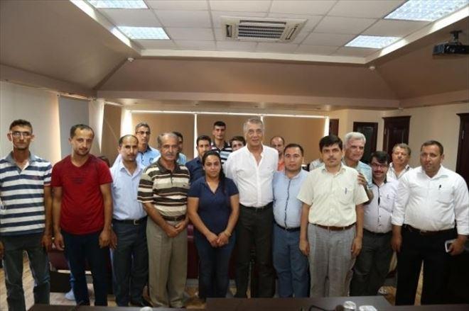Mezitli'de Kasaplara Bilgilendirme Toplantısı