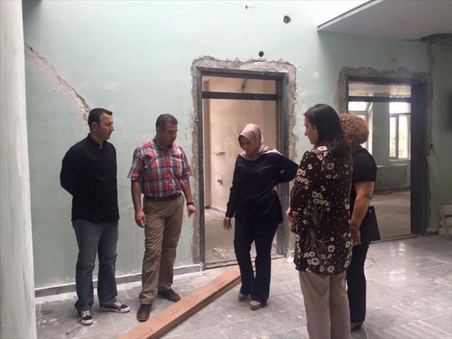 Musabeyli Devlet Hastanesi İnşaatı Sürüyor