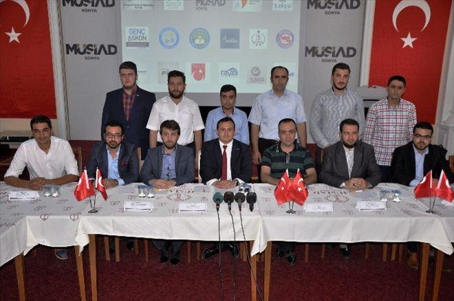 Konya Genç STK Temsilcilerinden Teröre Tepki