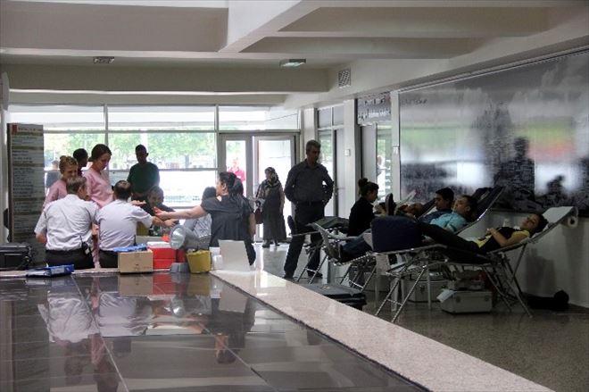Kastamonu Belediyesi Personeli Kan Bağışı Yaptı