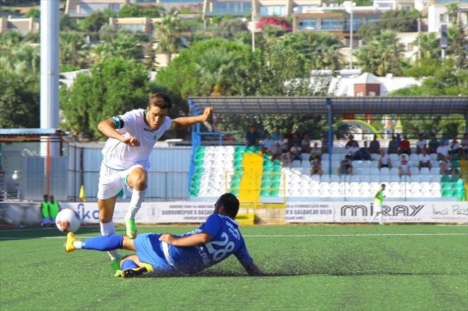 Bodrumspor Türkiye Kupasında Bir Üst Tura Yükseldi
