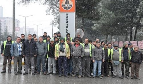 Taşeron Firmanın 56 İşçisi İşten Çıkarıldı