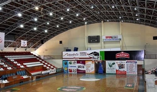 Uşak Atatürk Spor Salonu Sağlam Çıktı