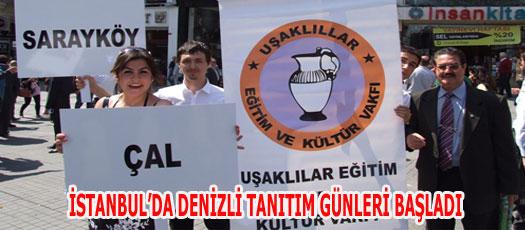 İSTANBUL'DA DENİZLİ TANITIM GÜNLERİ BAŞLADI