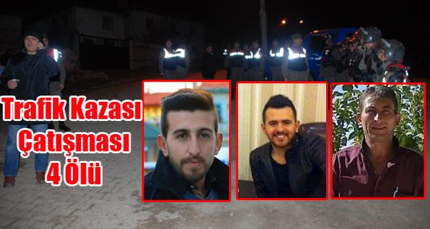 Emet'te iki aile arasında silahlı kavga: 4 ölü