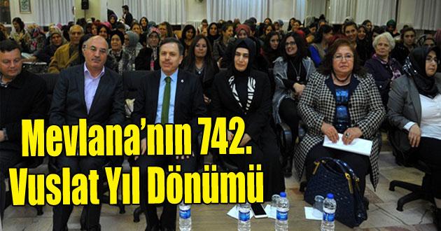 Mevlana'nın 742. vuslat yıl dönümü