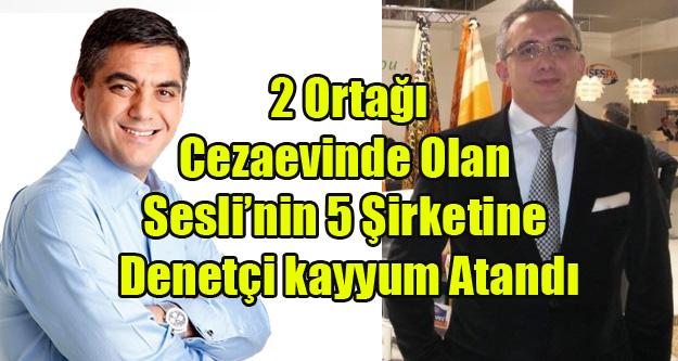 SESLİ'NİN 5 ŞİRKETİNE İFLAS ERTELEME VE DENETCİ KAYYUM