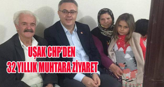 CHP'DEN 32 YILLIK MUHTARA ZİYARET