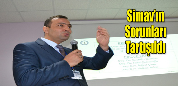 Simav'ın sorunları çalıştayda tartışıldı