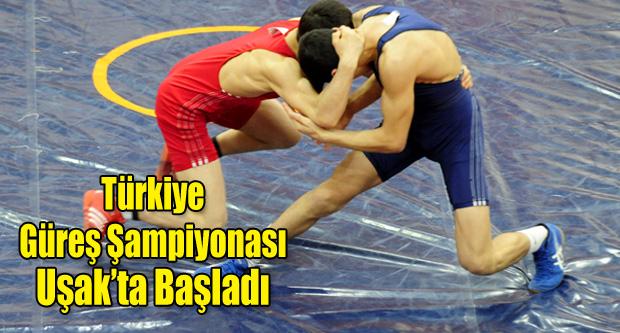 Yıldız Erkekler Grekoromen Türkiye Şampiyonası başladı