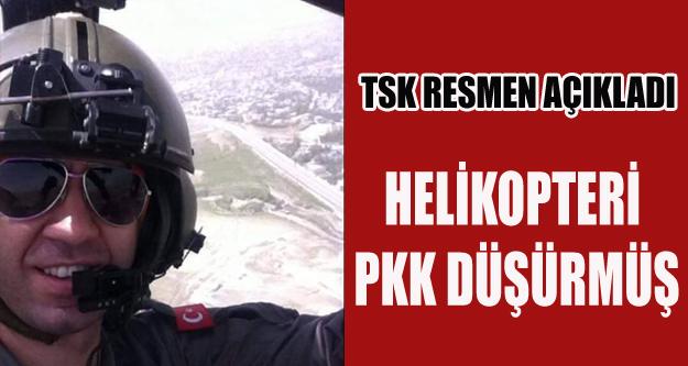 PİLOTLARIMIZI PKK'NIN ŞEHİT ETTİĞİ KESİNLİK KAZANDI