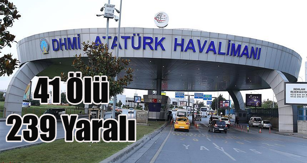 İSTANBUL'DA TERÖRÜN BİLANÇOSU 41 ÖLÜ 239 YARALI