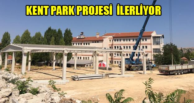 Kent Park Projesi Son Sürat İlerliyor