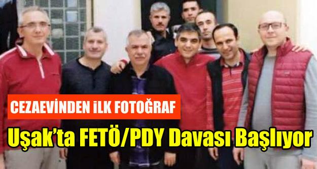 111 Sanıklı ilk FETÖ/PDY Davası Yarın Uşak'ta başlıyor.