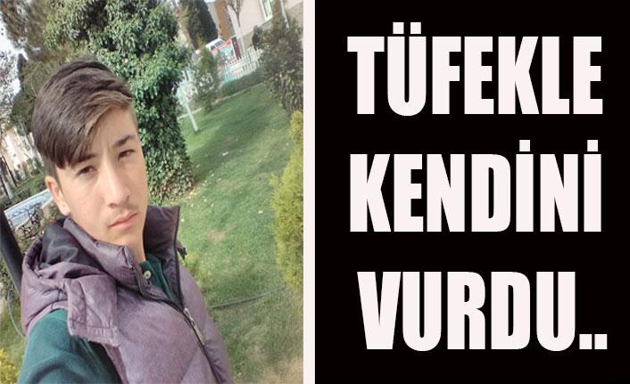 Uşak'ta intihar, lise öğrencisi kendini vurdu