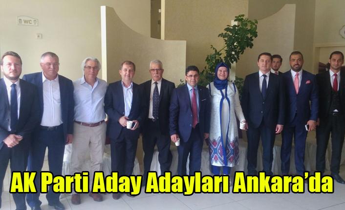 AK Parti Aday Adayları Ankara'da
