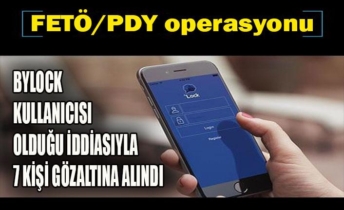FETÖ/PDY operasyonu