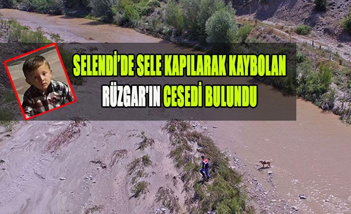 SELENDİ'DE SELE KAPILARAK KAYBOLAN RÜZGAR'IN CESEDİ BULUNDU