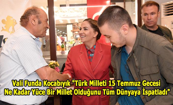 Türk milleti 15 Temmuz gecesi ne kadar yüce bir millet olduğunu tüm dünyaya ispatladı