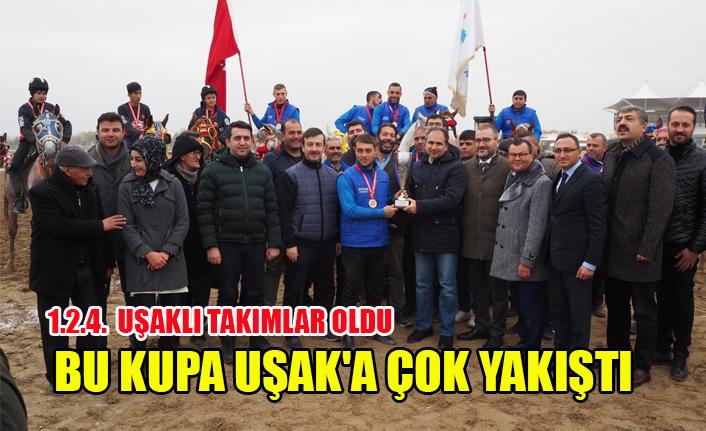 CİRİT'TE REKOR KIRDIK, BU KUPALAR UŞAK'A ÇOK YAKIŞTI