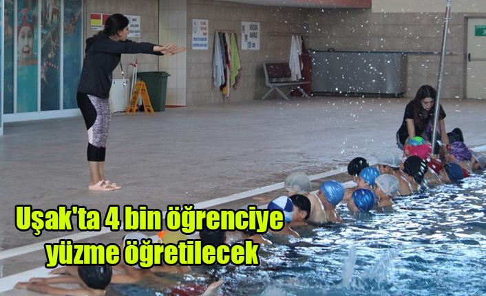 Uşak'ta 4 bin öğrenciye yüzme öğretilmesi hedefleniyor