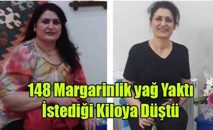 148 Margarinlik Yağ Yaktı İstediği Kiloya Düştü