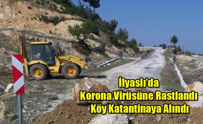 İlyaslı'da 3 Kişi'de Korona Virüse Rastlandı Köy Karantinaya Alındı