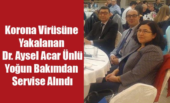 KORONA VİRÜSÜNE YAKALANAN DR. AYSEL ÜNLÜ'DEN SEVİNDİRİCİ HABER