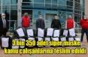 3 bin 350 adet siper maske kamu çalışanlarına...