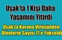 KORONA VİRÜSÜNDEN UŞAK'TA 1 KİŞİ DAHA...