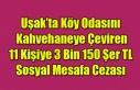 UŞAK'TA KÖY ODASINI KAHVEHANEYE ÇEVİREN 11...