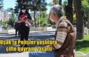 Polisler yaşlılara çifte bayram yaşattı