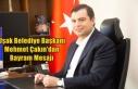 Uşak Belediye Başkanı Mehmet Çakın'dan Bayram...
