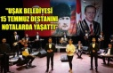 """""""UŞAK BELEDİYESİ 15 TEMMUZ DESTANINI NOTALARDA..."""