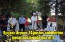 Başkan Arpacı, 1 Ağustos şehitlerine mezar başlarında...