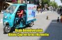 Uşak Belediyesinin Akülü Çöp Jet Aracı Hizmete...