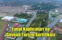 Eynal Kaplıcaları'na 'Güvenli Turizm Sertifikası'