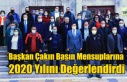 Başkan Çakın Basın Mensuplarına 2020 Yılını...