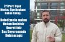 İYİ PARTİ MERKEZ İLÇE BAŞKANI HAKAN SAVAŞ'DAN...